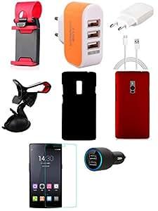 NIROSHA Mobile Combo for OnePlus 2 - 1P2-SH-3UA-CC-CCH-MH-KHBC-MHBC-TG