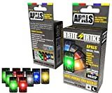 Brite Strike All Purpose Adhesive Light Strips, 10-Pack, Color Variety