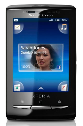 Sony Ericsson XPERIA X10 Mini E10i Unlocked Smartphone with 5 MP Camera, Android OS, gps navigation, Wi-Fi and Bluetooth--International Version with Warranty (Silver)