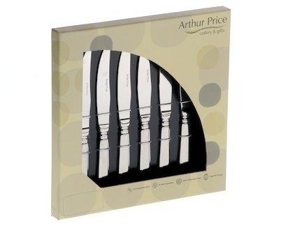 Arthur Price Classic Kings Box of 6 Steak Knives