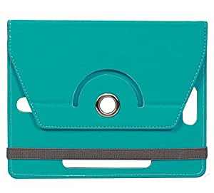 Cyan Stylabs Tablet Book Flip Case Cover For Zebronics Zebpad 7T500 (Universal)