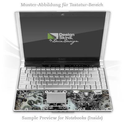 Design Skins für DELL Latitude D530 Tastatur - Binary chemistry Design Folie