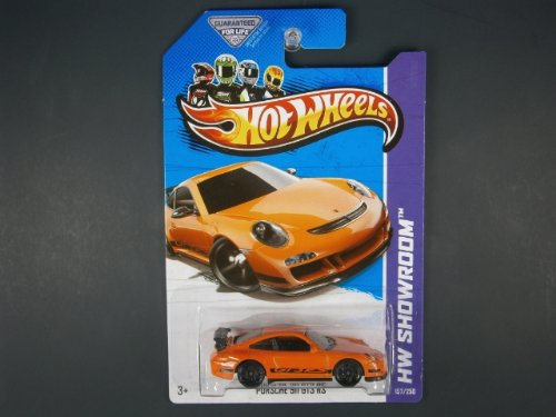 2013 Porsche 911 GT3 RS #157/250 - Hot Wheels Showroom Series
