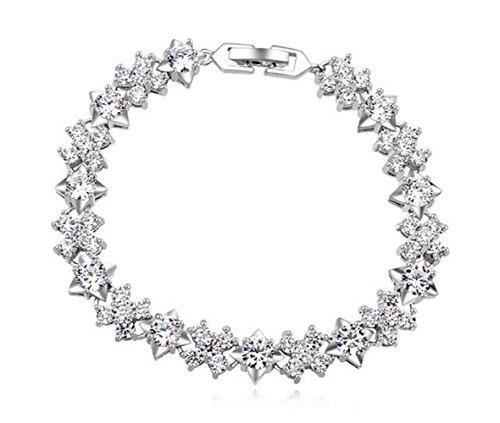 CAETLE®Korea Women's Cute 925 Sliver Bracelets Christmas qs0374