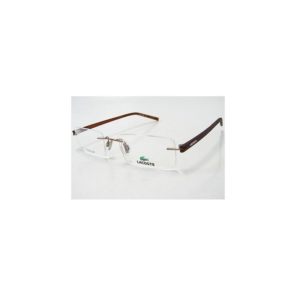 1bbd2c1b211 LACOSTE 12028 Eyeglasses LA12028 BR Brown Optical Frame on PopScreen