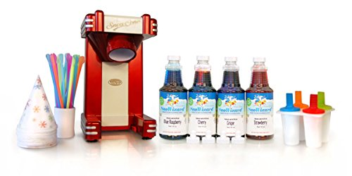 SnoWizard Red RiderTM Snow Cone Kit (Snow Cone Cups And Syrup compare prices)