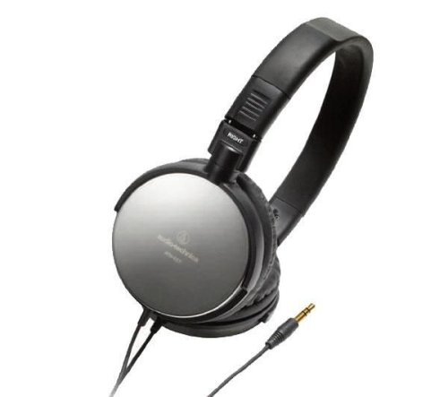 AUDIO-TECHNICA ATH-ES7 HiFi Headset - black for MP3 players and iPods