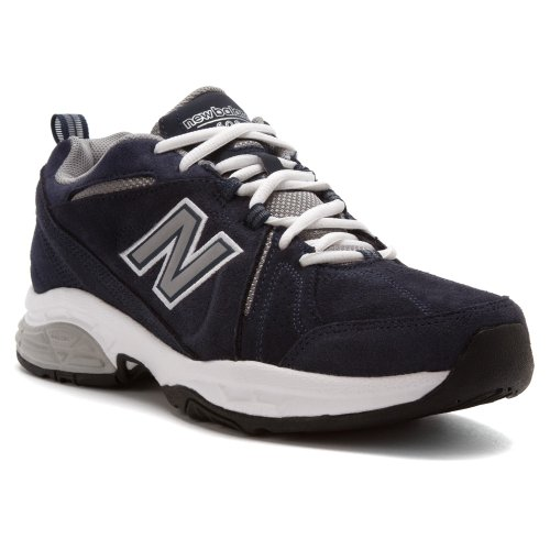 New Balance Men'S Mx608 Cross-Training Shoe,Navy/White,10 D Us