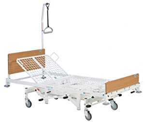 Kingsfund Standard Manual Hydraulic Adjustable Hospital Homecare Care Bed