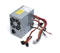 Genuine Dell 300W Replacement Power Supply PSU Power Brick For Inspiron 530 / 531 / 541 / 518 / 519 / 537 / 545 / 546 / 540 / 560 / 580 Mini Towers and Vostro 200 / 201 / 400 / 220 Mini Towers Systems. Replaces Dell Part Numbers: 9V75C, C411H, CD4GP, D382H, DVWX8, FFR0Y, GH5P9, H056N, H057N, HT996, J036N, K932C, N183N, N184N, N189N, N383F, N385F, P981D, PKRP9, R215C, R850G, R851G, RJDR3, XW596, XW597, XW598, XW599, XW600, XW601, Y359G, YX309, YX445, YX446, YX448, YX452 Replaces Model Numbers: DPS-300AB-24 G, DPS-300AB-24 B, HP-P3017F3, D300R002L, HP-P3017F3 LF, PS-5301-08, DPS-300AB-47, PS-6301-6, HP-P3017F3 3LF, DPS-300AB-36 B, ATX0300D5WB, ATX0300D5WB Rev X3, HP-P3017F3 LF, HP-P3017F3P, DPS-300A B-26 A, 04G185015510DE, PC6037, PS-6301-6, DOS-300AB-36B, PS6301-02