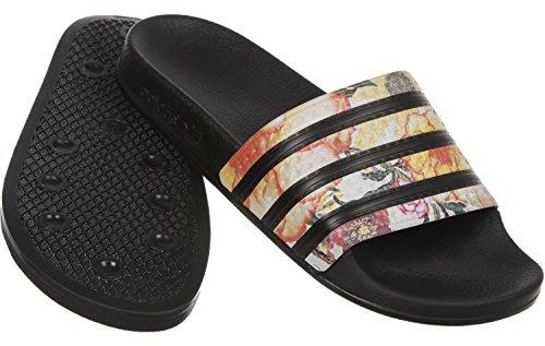 adidas Adilette W Ciabatta da mare 8,0 black/black