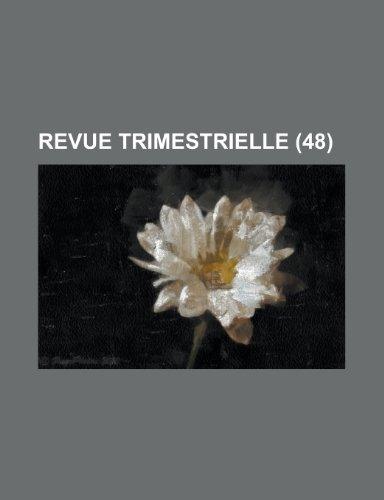 Revue Trimestrielle (48)