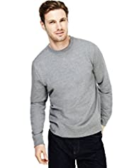 XXXL Crew Neck Plain Sweat Top