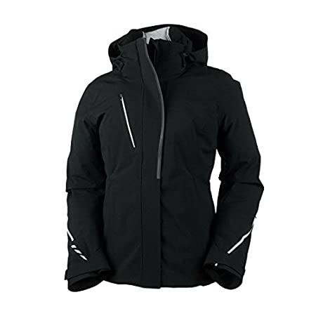Modern sleek lines, distinctive alpine styling and advanced technical workmanship is the dynamic combination of the Obermeyer Zermatt Womens Insulated Ski Jacket. The brisk air and the fresh snow stay at a distance, as your upper body stays protected...