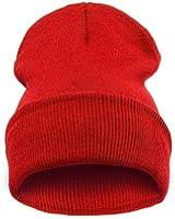 Beanie Hats - Bonnet -  Femme Noir 1red without logo