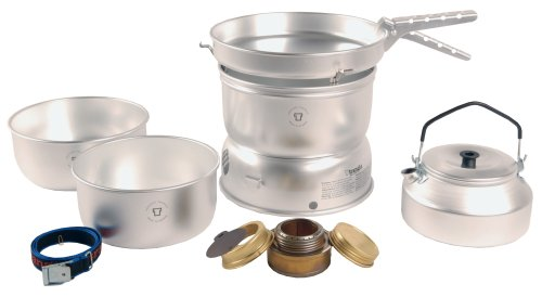 Trangia 25 Cookset With Kettle  &  Spirit Burner