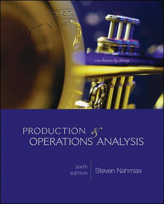 Production and Operations Analysis (McGraw-Hill/Irwin...