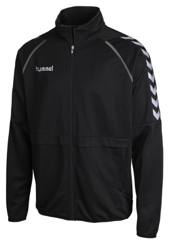 Hummel - Giacca sportiva Stay Authentic Poly, Nero (nero), L
