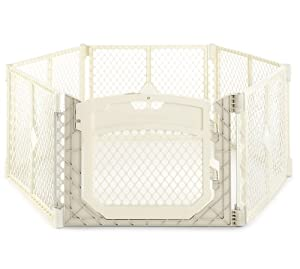 North States Industries Superyard Ultimate Play Yard, Ivory