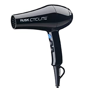 RUSK Engineering CTC Lite Technology Professional Lightweight 1900 Watt Dryer, 1.8 lb.