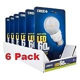 Cree 9.5-Watt (60W) Warm White (2700K) LED Dimmable Light Bulb (CASE of SIX) Discount
