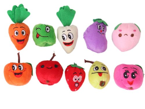 how to make fruit finger puppets