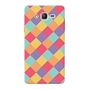 Inkif Back Cover For Samsung Galaxy On7 (Multi-Coloured)
