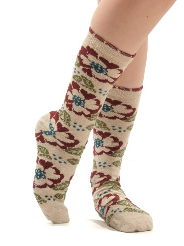 Gorgeous Eco Friendly Recycled Yarn Crew Socks