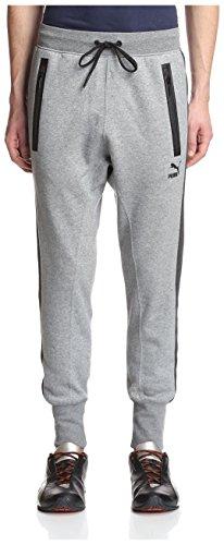 PUMA Men's Evo Sweat Pant, Medium Gray Heather, XL