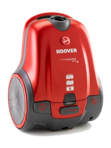 Hoover PurePower Pets TPP2310 Bagged Cylinder Vacuum Cleaner, 2300 Watt