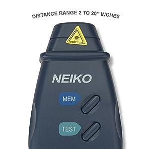 Tacómetro Digital Profesional Neiko 20713A Laser con exactitud de 99,999 RPM