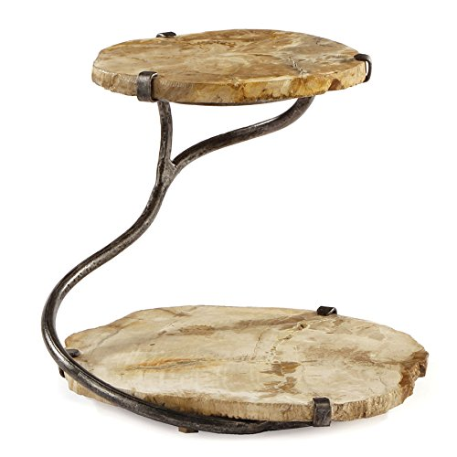 Petrified Tiered Stand (Petrified Wood Tray compare prices)