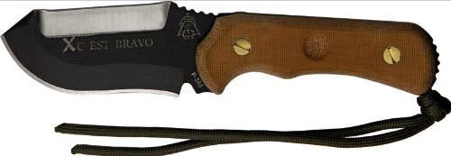 Tops Knives Xcest Bravo Cross Country Emergency Support Tool / Knife Model Xcest-B / Black Sheath