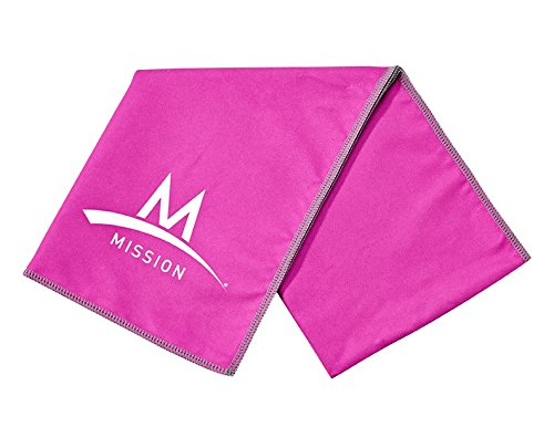 Mission Enduracool Microfiber Towel, Pink