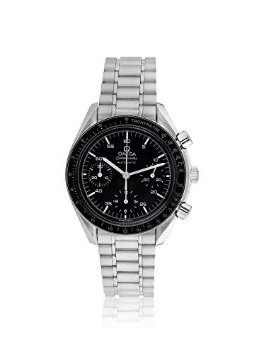Omega Men's Pre-Owned Speedmaster Racing Black/Stainless Steel Watch