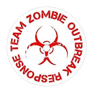 Zombie Outbreak Response Team - Window Bumper Sticker