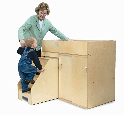 Whitney Bros - Step Up Toddler Changing Cabinet