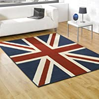 Buckingham Union Jack Rugs 120 x 160cm by Flair