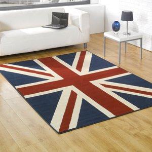 Buckingham Union Jack Rugs 120 x 160cm by Flair