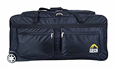 "New Outdoor Gear Wheeled Holdall Trolley Suitcase Luggage Travel Holiday Bag X-Large 34"" inch"