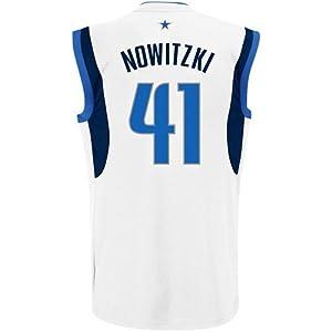 Dirk Nowitzki Dallas Mavericks #41 NBA Youth Retro Mesh Home Jersey
