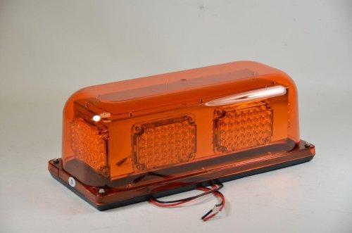 Safeco Construction Security Emergency Snow Plow Tow Truck Mini Led Light Bar Amber Rectangular