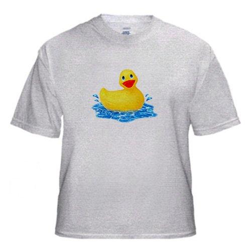Rubber Duck - Adult Birch-Gray-T-Shirt XL