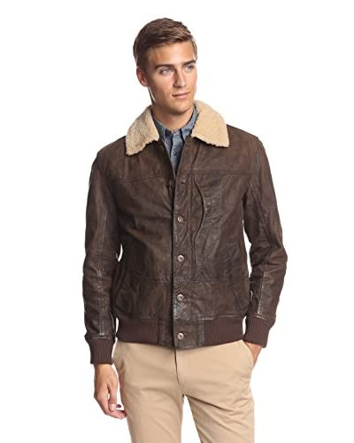 Timberland Men's Tenon Workwear Bomber with Shearling Collar