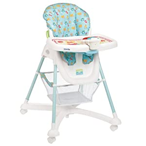 Sesame Beginnings Deluxe Reclining High Chair