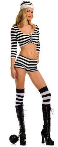 Womens Jailbird Costume