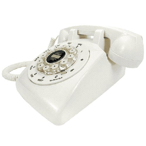 Crosley Ivory Desk Phone (CR58-IV)