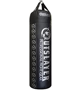 Outslayer 80lb Punching Bag for Boxing and MMA. Made in USA