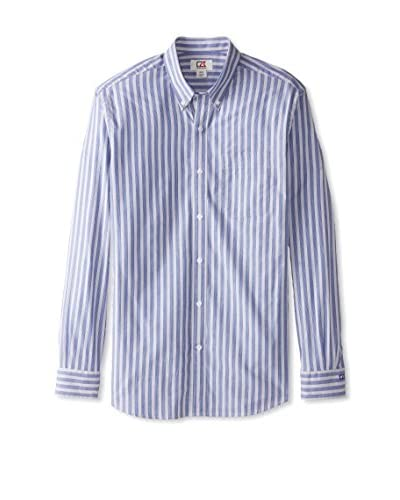 Cutter & Buck Men's Sideline Stripe Long Sleeve Shirt