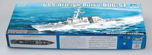 Trumpeter 1:350 - USS Arleigh Burke DDG-51